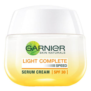 Garnier Light Complete Whitening Serum Day Cream SPF 30 50g - Asian Beauty Supply