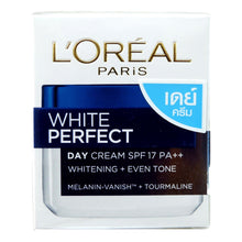 Load image into Gallery viewer, L'Oreal White Perfect Day Cream Tourmaline Skin Whitening SPF 17 50ml