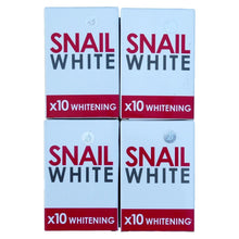 Load image into Gallery viewer, Snail White Skin Whitening Glutathione Soap 70 grams Pack of 4