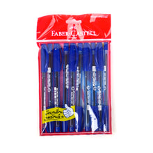 Load image into Gallery viewer, Faber Castell 1423 Super Fine Ballpoint Pen 0.5mm Dark Blue (Pack of 10)