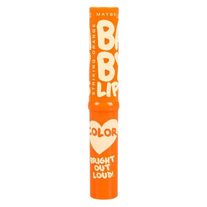 Maybelline Baby Lips Bright Out Loud Color Tinted Lip Balm SPF13 Striking Orange - Asian Beauty Supply