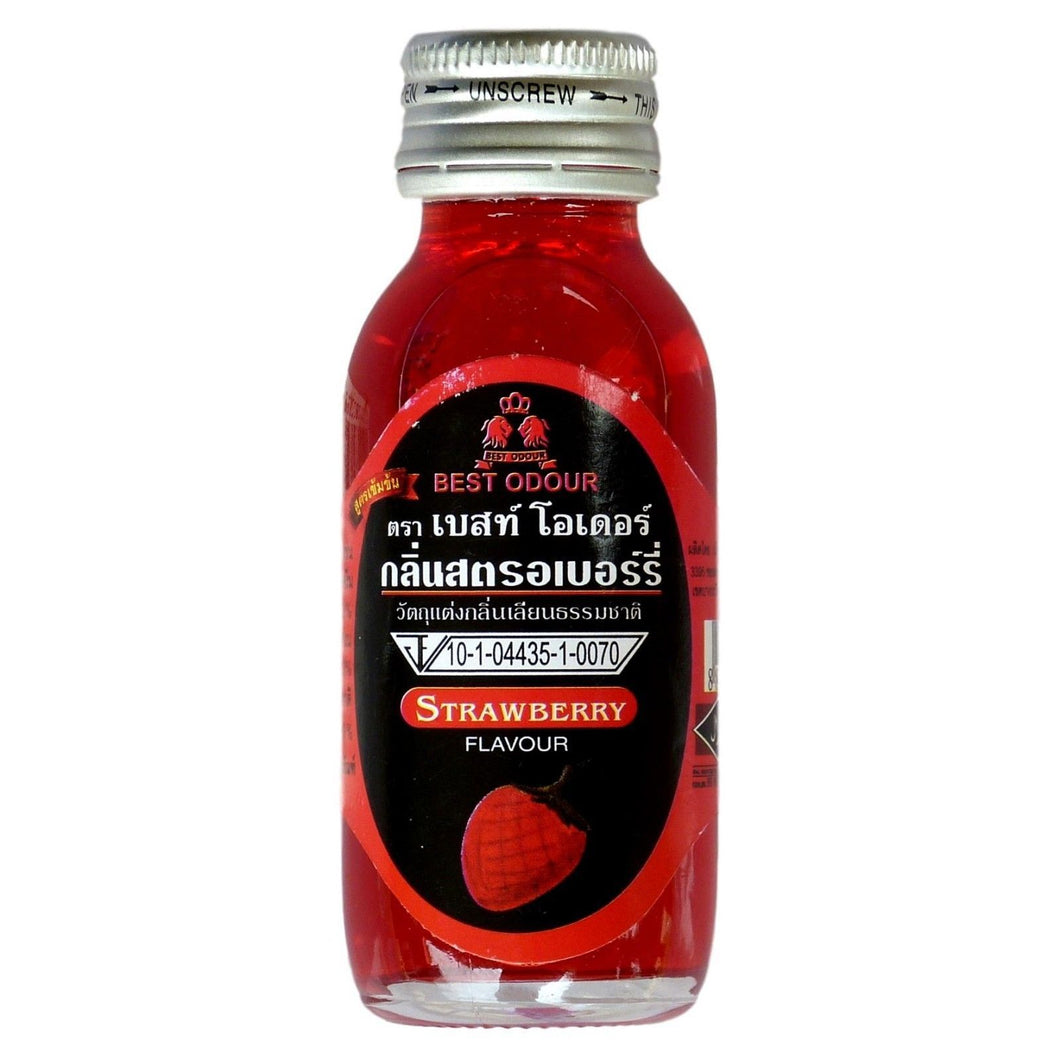 Best Odour Strawberry Flavor for Thai Food and Drinks 30ml