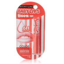 Load image into Gallery viewer, Maybelline Baby Lips Color Changing Lip Balm SPF 16 Peach Bloom - Asian Beauty Supply