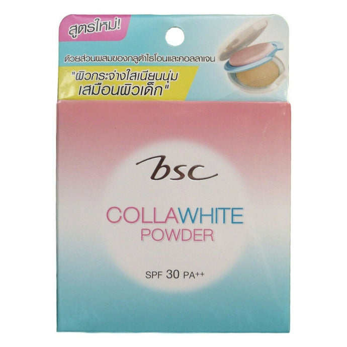 BSC Cosmetology Collawhite Cake Powder Foundation SPF 30 Shade C2 Medium