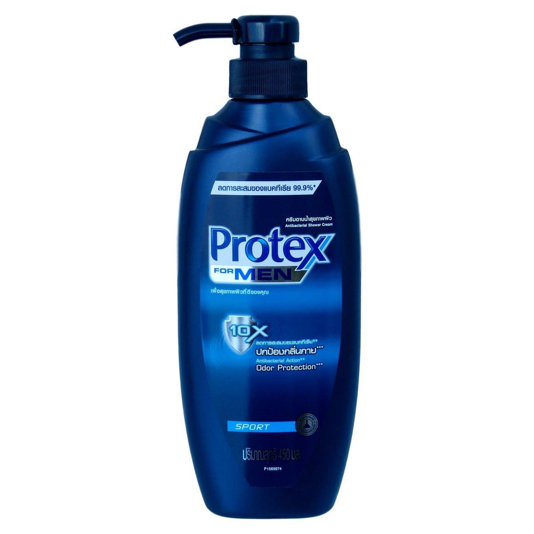 Protex for Men Antibacterial Body Wash Shower Cream Sport 450ml - Asian Beauty Supply