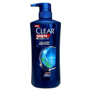Clear Men Anti Dandruff Cool Sport Menthol Shampoo with Taurine 450ml - Asian Beauty Supply