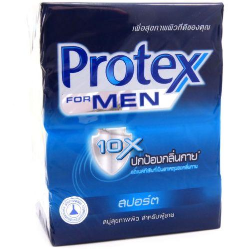 Protex for Men Antibacterial Bar Soap SPORT 65g Pack of 4 - Asian Beauty Supply