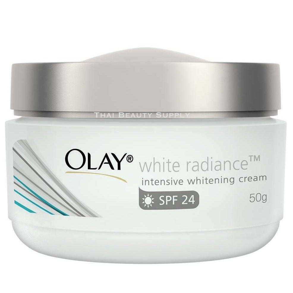 Olay White Radiance Intensive Whitening Cream Skin Whitening SPF 24 50 grams - Asian Beauty Supply