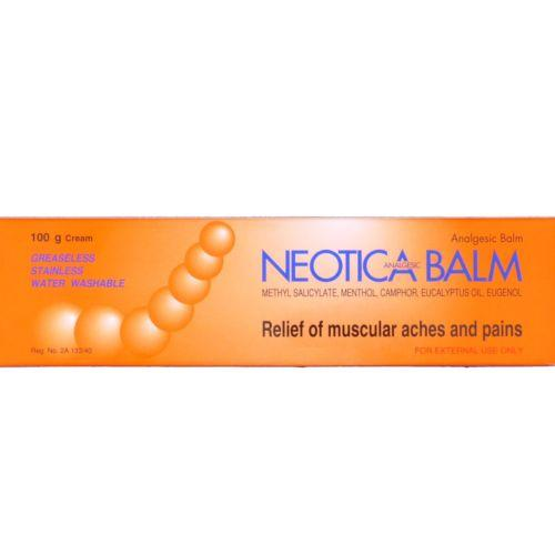 Neotica Analgesic Balm for Relief of Muscular Aches and Pains 100 grams