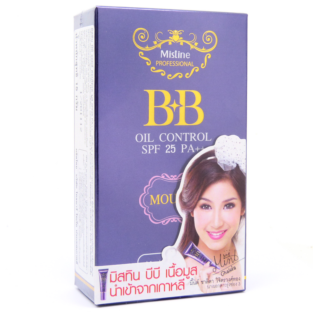 Mistine BB Oil Control Mousse Foundation SPF 25 15ml - Asian Beauty Supply