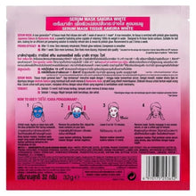 Load image into Gallery viewer, Garnier Sakura White Serum Mask Hydrating Pinkish Glow Hyaluronic Acid Pack of 3 - Asian Beauty Supply