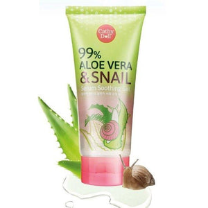 Cathy Doll Aloe Vera and Snail Serum Soothing Gel - Asian Beauty Supply