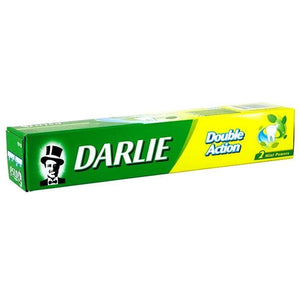 Darlie Double Action Toothpaste Two Mint Powers Spearmint Peppermint 85 grams - Asian Beauty Supply