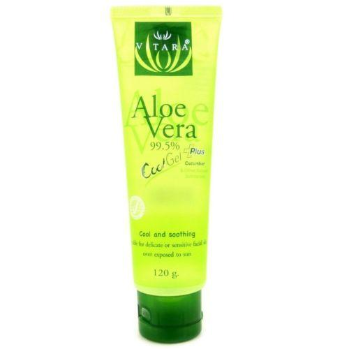 Vitara Aloe Vera Cool Plus Gel for Facial Sunburn 120 grams