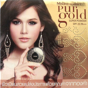 Mistine Number 1 Pur Gold Super Powder Shade S1 LIGHT