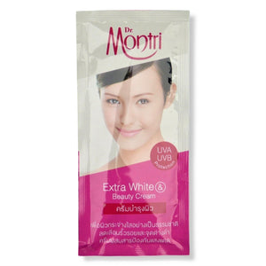 Dr. Montri Extra White and Beauty Cream 10g Sachets (Pack of 6) - Asian Beauty Supply