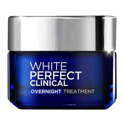 L'Oreal White Perfect Clinical Overnight Anti Spot Treatment Night Cream 50ml - Asian Beauty Supply