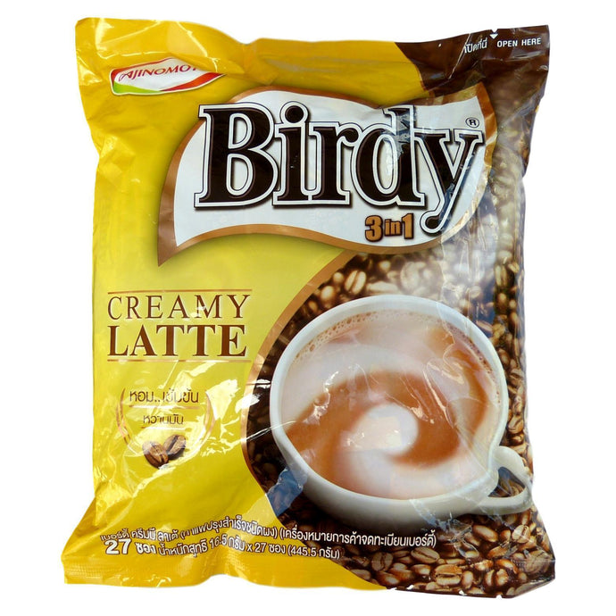 Birdy Creamy Latte 3 in 1 Instant Coffee 27 Sachets - Asian Beauty Supply