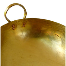 Load image into Gallery viewer, Handmade Thai Brass Wok