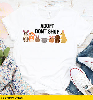 Adopt Don't Shop T-Shirt - Get Happy Tees