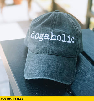 Dogaholic Hat - Get Happy Tees