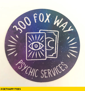 300 Fox Way Sticker - Get Happy Tees