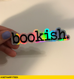 Holographic Bookish Sticker