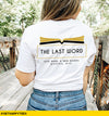 The Last Word Shop Logo T-Shirt