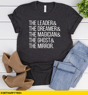 The Leader & The Dreamer T-Shirt - Get Happy Tees