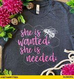 She is Wanted T-Shirt