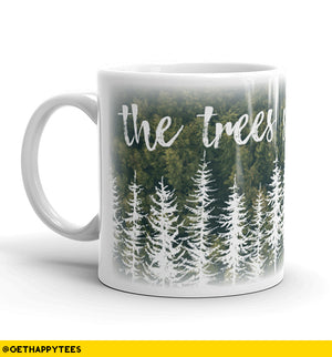 The Trees Speak Latin Mug - Get Happy Tees
