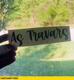 As Travars Decal - Get Happy Tees