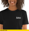 Bebe Embroidered Tee