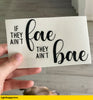 Fae Bae Decal