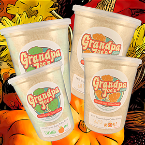 SAVE $4 - Thanksgiving Edition 4-Pack - 100% Organic Sugar Cotton Candy