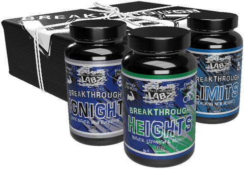 Men's Natural Transformation Deal: HEIGHTS, LIMITS, & IGNIGHT