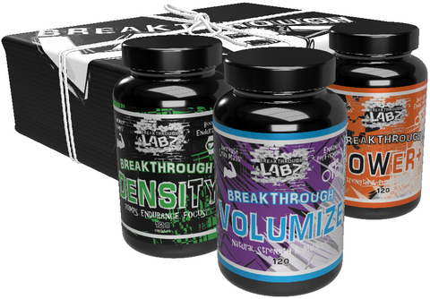 The Ultimate Pre-Workout Bundle: DENSITY, VOLUMIZE, POWER+