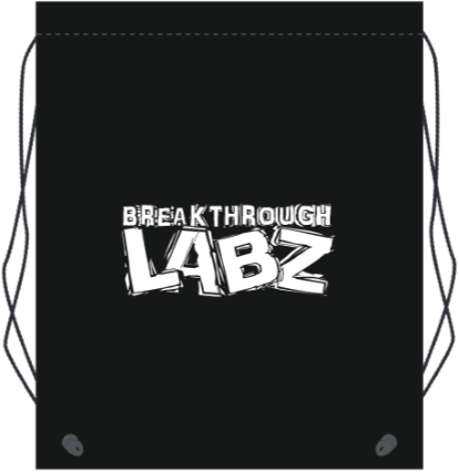 Official Breakthrough Labz Drawstring Bag!