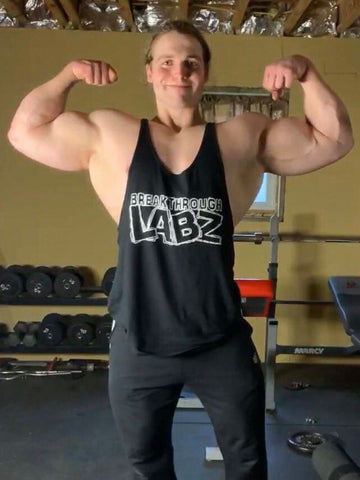 Men's Black Breakthrough Labz Stringer