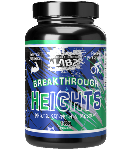 HEIGHTS: Natural Strength & Mass Builder*