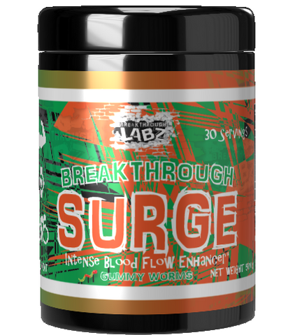 SURGE: For that Sick Old-School Pump* [Flavor: Gummy Worms]