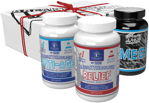 The Complete Joint & Mobility Stack: RELIEF, ANTI-AGE, & OMEGA