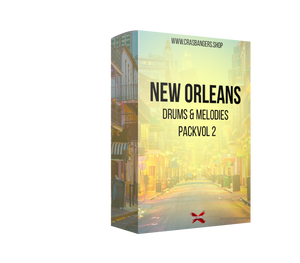 New Orleans Vol 2 Drums & Melodies Pack