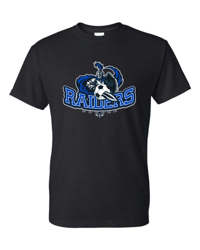 RAIDER SOCCER BALL AND SWORD TEE