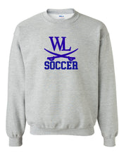 Load image into Gallery viewer, Raider Soccer Logo Crewneck