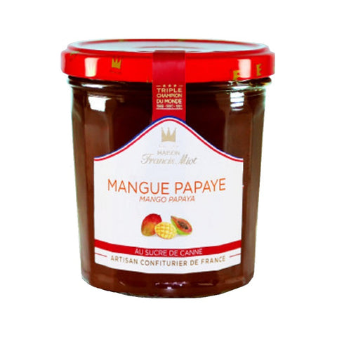 Confiture Mangue papaye 340g