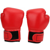 1 Pair Child Boxing Gloves Kids Training Fighting Gloves Muay Thai Sparring Punching Kickboxing Breathable PU Training Gloves