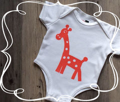 Antimicrobial Moisture Wicking Baby Clothing Giraffe Bodysuits- BonnBonn Baby Antimicrobial Wicking Baby Clothing and Essentials