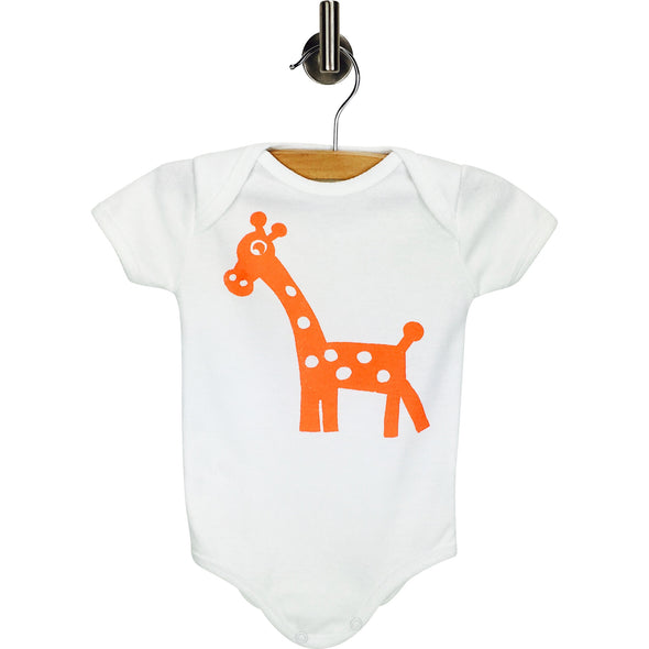 Performance Animal Print Bodysuit Moisture Wicking Antimicrobial Essentials - BonnBonn Baby - BonnBonn Baby Antimicrobial Wicking Baby Clothing and Essentials