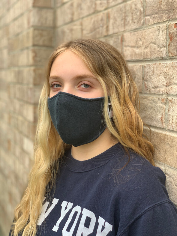Antimicrobial Moisture Wicking Face Mask for Adult and Child